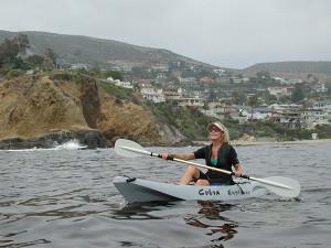 BrousBlog8c Kathy Kayaking Laguna w.hills #63