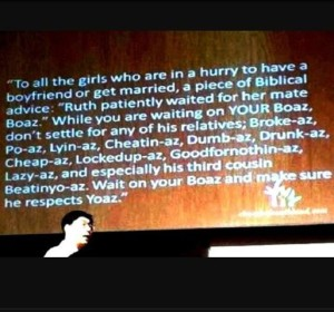 Wait for Boaz