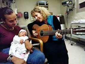 Joanne Loewy Sings to Baby