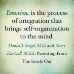 Dan Siegel Quote on Emotion