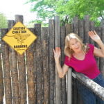 Kathy w. Cheetah Sign
